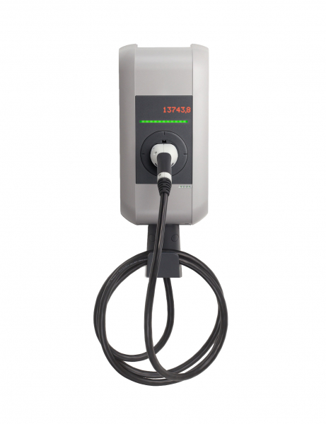 KEBA Wallbox KeContact x-series (11 kW) mit Typ 2-Ladekabel